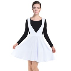 Plunge Pinafore Dress
