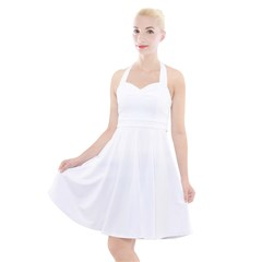 Halter Party Swing Dress