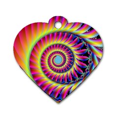 Fractal34 Dog Tag Heart (One Side) from MallPress.com Wholesale Dropship Stores Front