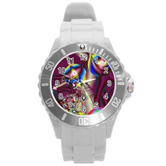 Design 10 Round Plastic Sport Watch Large from MallPress.com Wholesale Dropship Stores Front