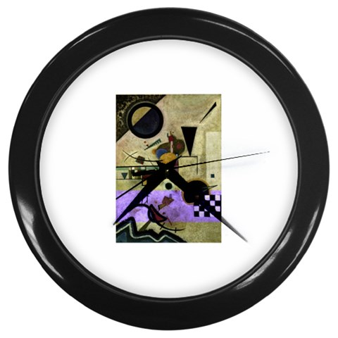 Wassily Kandinsky Contrasting Sounds Art Wall Clock