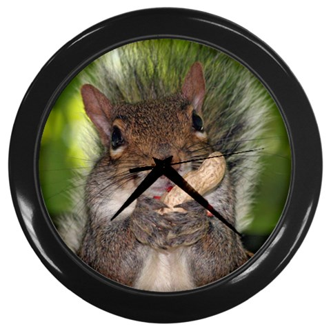 Squirrel and Peanut Animal Lover Chipmunk Wall Clock