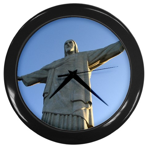 Statue of Jesus Christ Christian Wall Clock