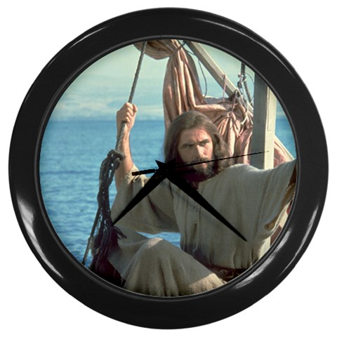 Jesus on the Water Christian Wall Clock