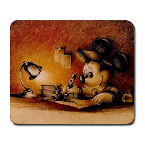 Mickey Mouse Hard at Work Disney Mousepad