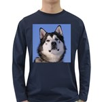 Alaskan Malamute Long Sleeve Dark T-Shirt