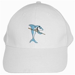 Pool Shark White Cap from MallPress.com Wholesale Dropship Stores Front
