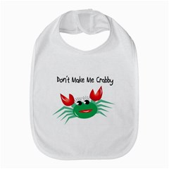 Green Don t Make Me Crabby Baby Bib from MallPress.com Wholesale Dropship Stores Front