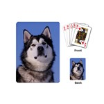 Alaskan Malamute Dog Playing Cards (Mini)